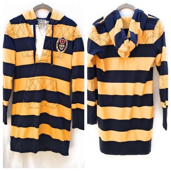 Ralph Lauren Dresses & Skirts - Ralph Lauren Rugby Dress With Hood